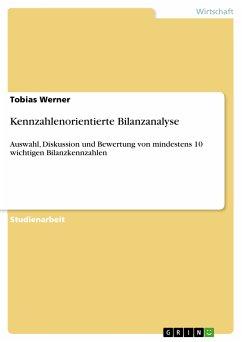 Kennzahlenorientierte Bilanzanalyse (eBook, PDF)