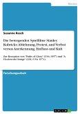 Die bewegenden Spielfilme Stanley Kubricks: Ablehnung, Protest, und Verbot versus Anerkennung, Einfluss und Kult (eBook, PDF)