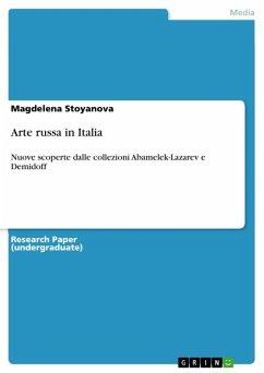 Arte russa in Italia (eBook, PDF)