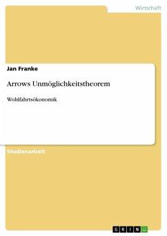 Arrows Unmöglichkeitstheorem (eBook, PDF)