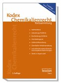 Kodex Chemikalienrecht (eBook, PDF)