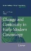 Change and Continuity in Early Modern Cosmology (eBook, PDF)