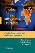 Environmental Learning (eBook, PDF) - Hopwood, Nick; Lundholm, Cecilia; Rickinson, Mark
