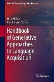 Handbook of Generative Approaches to Language Acquisition (eBook, PDF)