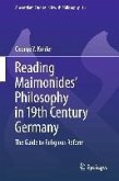 Reading Maimonides' Philosophy in 19th Century Germany (eBook, PDF)