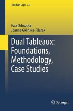 Dual Tableaux: Foundations, Methodology, Case Studies (eBook, PDF) - Orlowska, Ewa; Golinska Pilarek, Joanna