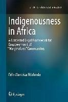 Indigenousness in Africa (eBook, PDF) - Ndahinda, Felix Mukwiza