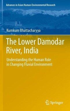The Lower Damodar River, India (eBook, PDF) - Bhattacharyya, Kumkum