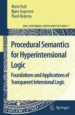 Procedural Semantics for Hyperintensional Logic (eBook, PDF)