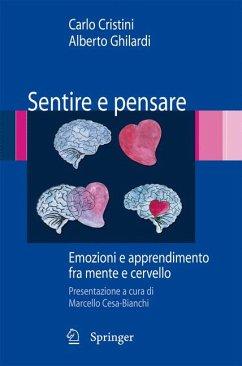 Sentire e pensare (eBook, PDF) - Ghilardi, Alberto; Cristini, Carlo