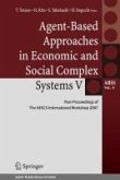 Agent-Based Approaches in Economic and Social Complex Systems V (eBook, PDF)