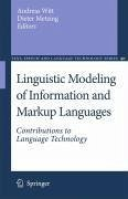 Linguistic Modeling of Information and Markup Languages (eBook, PDF)