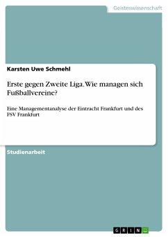 Erste gegen Zweite Liga. Wie managen sich Fußballvereine? (eBook, PDF)