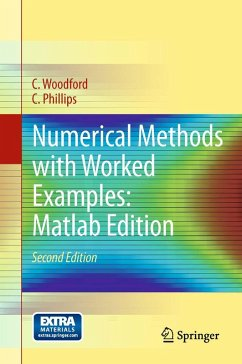 Numerical Methods with Worked Examples: Matlab Edition (eBook, PDF) - Woodford, C.; Phillips, C.