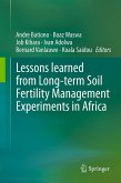 Lessons learned from Long-term Soil Fertility Management Experiments in Africa (eBook, PDF)
