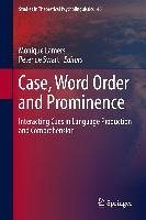 Case, Word Order and Prominence (eBook, PDF)