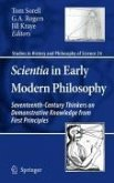 Scientia in Early Modern Philosophy (eBook, PDF)