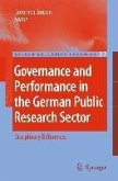Governance and Performance in the German Public Research Sector (eBook, PDF)