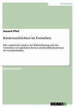 Kindernachrichten im Fernsehen (eBook, PDF) - Pfeil, Susann