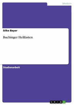 Buchinger Heilfasten (eBook, PDF)