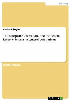 The European Central Bank and the Federal Reserve System - a general comparison (eBook, ePUB)