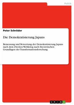 Die Demokratisierung Japans (eBook, PDF)