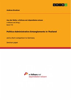 Politico-Administrative Entanglements in Thailand (eBook, PDF)