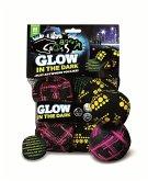Schildkröt: Crossboccia Night Glow Double Pack, 2x3er Set für zwei Spieler,