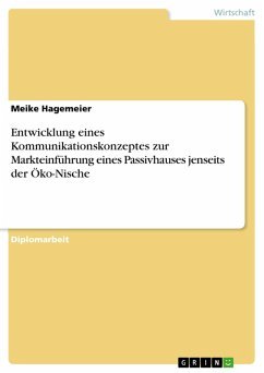 Entwicklung eines Kommunikationskonzeptes zur Markteinführung eines Passivhauses jenseits der Öko-Nische (eBook, PDF)