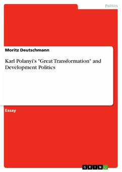 "Karl Polanyi's ""Great Transformation"" and Development Politics (eBook, PDF)"