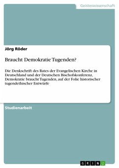 Braucht Demokratie Tugenden? (eBook, PDF)