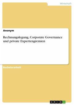 Rechnungslegung, Corporate Governance und private Expertengremien (eBook, PDF)