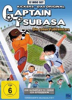Captain Tsubasa: Die tollen Fußballstars - Die komplette Serie DVD-Box