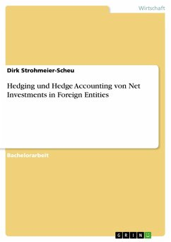 Hedging und Hedge Accounting von Net Investments in Foreign Entities (eBook, PDF)
