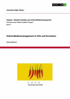 Online-Medienmanagement in Film und Fernsehen (eBook, PDF)