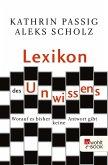 Lexikon des Unwissens (eBook, ePUB)