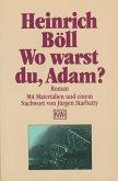 Wo warst du Adam (eBook, ePUB)