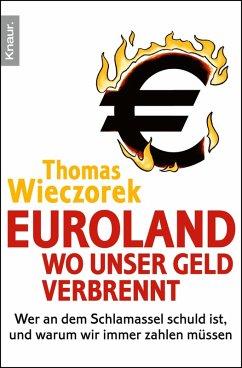 Euroland: Wo unser Geld verbrennt (eBook, ePUB) - Wieczorek, Thomas