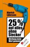 25 % auf alles ohne Stecker (eBook, ePUB)