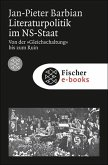 Literaturpolitik im NS-Staat (eBook, ePUB)