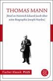 [Brief an Heinrich Eduard Jacob über seine Biographie Joseph Haydns] (eBook, ePUB)