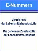 E-Nummern – Verzeichnis der Lebensmittelzusatzstoffe (eBook, ePUB)