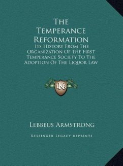 The Temperance Reformation