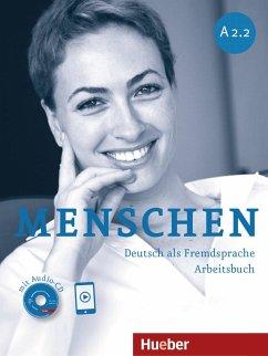 Menschen A2/2. Arbeitsbuch mit Audio-CD - Breitsameter, Anna; Glas-Peters, Sabine; Pude, Angela