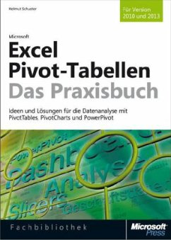 Microsoft Excel Pivot-Tabellen - Das Praxisbuch. Für Version 2010 und 2013 - Schuster, Helmut