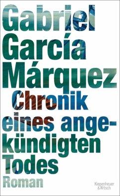 Chronik eines angekündigten Todes (eBook, ePUB) - García Márquez, Gabriel