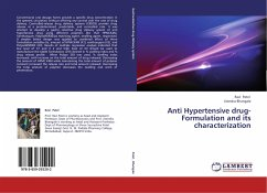 Anti Hypertensive drug- Formulation and its characterization
