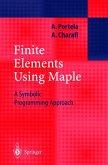 Finite Elements Using Maple