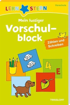 Lernstern: Mein lustiger Vorschulblock. Zählen und Schreiben ab 4 Jahren