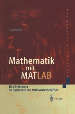 Mathematik mit MATLAB - Benker, Hans